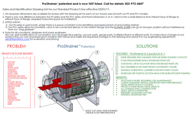 ProStrainer HP Diagram